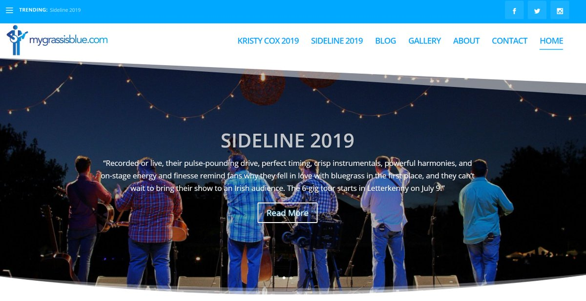 Our new #website is live. Lots more to come here!  http:// mygrassisblue.com / &nbsp;   #bluegrass #bluegrassmusic #mygrassisblue<br>http://pic.twitter.com/NV1W3wkj5f