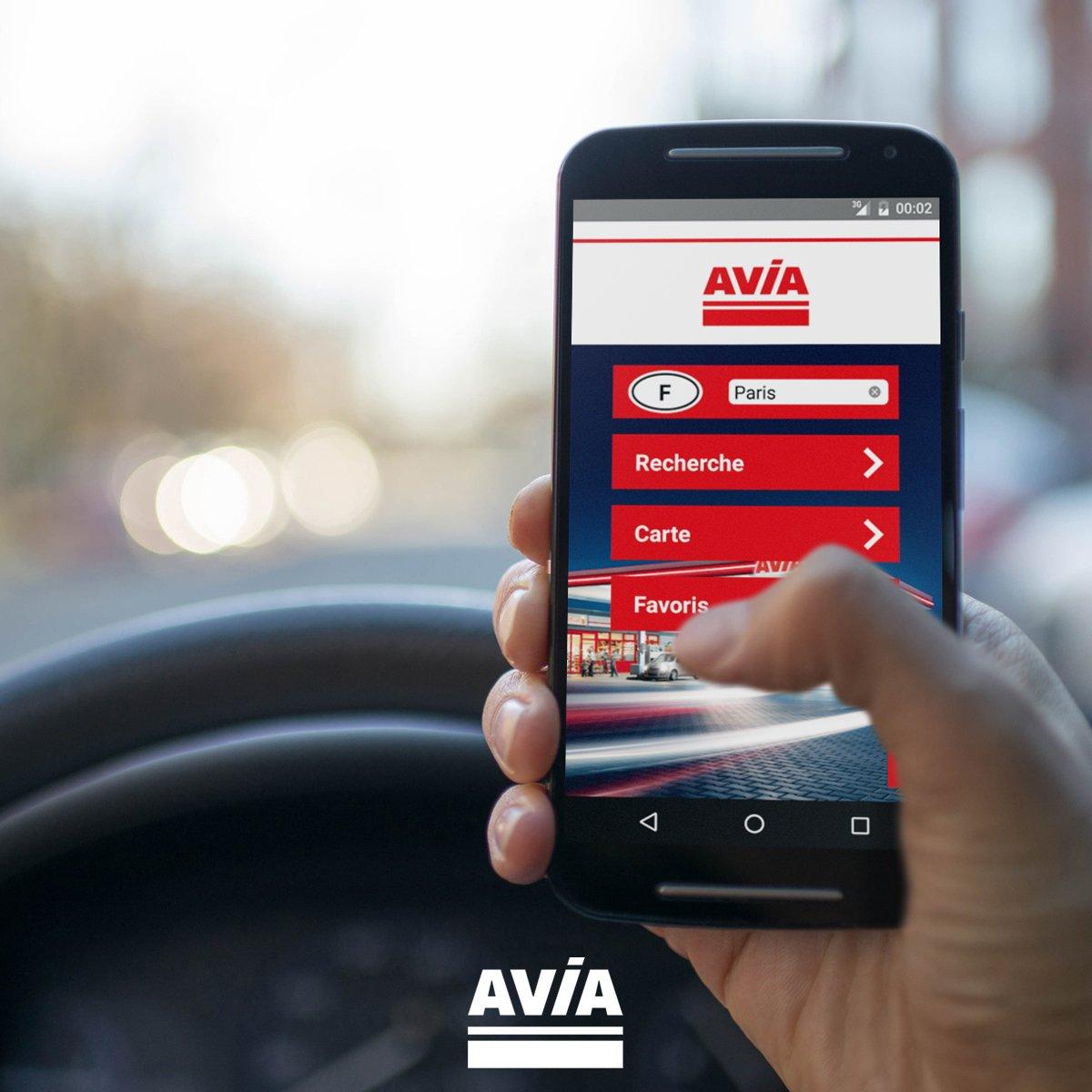 AVIA l'application pour smartphone  pour tout savoir de les stations-services. dans - - - NEWS INDUSTRIE DwZMOLXWkAAF_A7