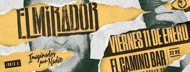 #FECHAS: Nuestros amigueros de #ElMirador e #IXN copan #ElCamino y te contamos en este enlace: http://www.vecinosenrockados.com/2019/01/se-pone-en-marcha-el-2019.html?m=1… – at El Camino Bar Cultural