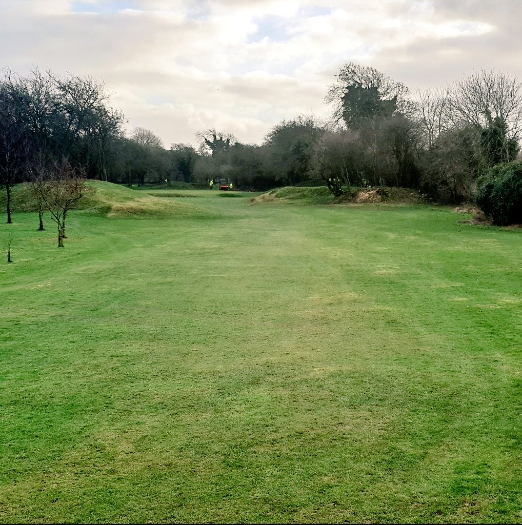 test Twitter Media - The green staff have been busy clearing dead and overhanging trees from around the 6th. This should speed up play and bring some much needed air and light to the 6th green. https://t.co/Jbq91trC2l
