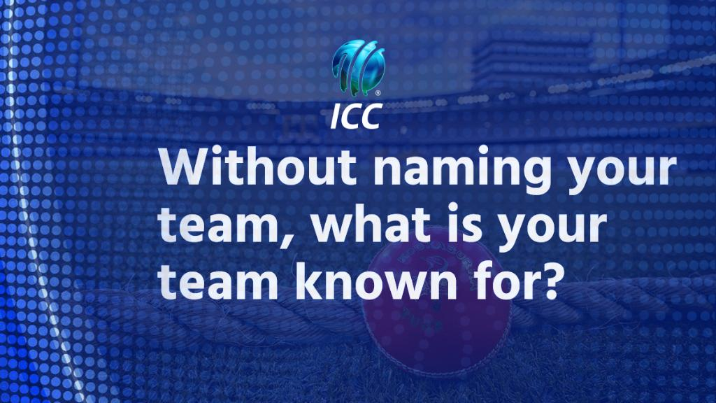 Without naming your team, what is your team known for?