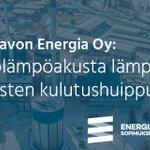 Image for the Tweet beginning: Vastuullisten energiankäyttäjien joukossa Etelä-Savon Energia