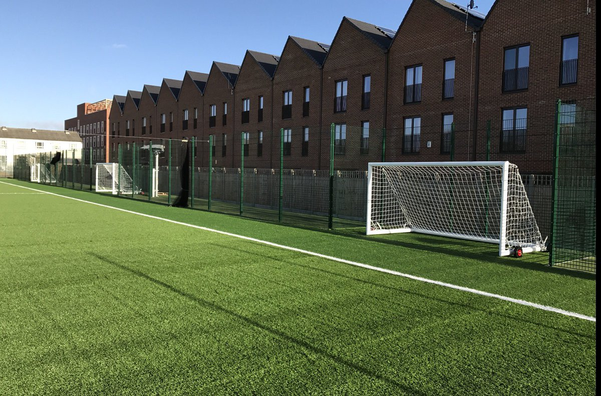 2544d5599f8 Our goals complete   Heron Hall Academy in today s London sunshine.