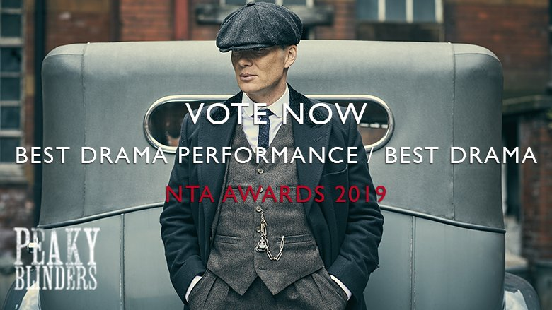 69e3141fc74 Vote for  PeakyBlinders to win Best Drama and  CillianMurphy to win Best  Drama Performance here  bit.ly 2kGOE7H