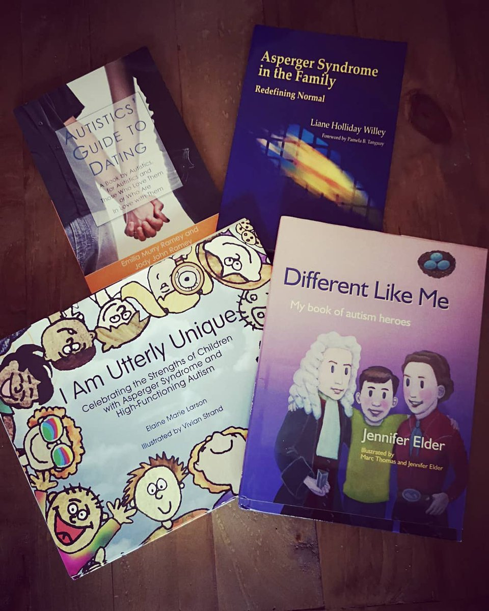 If you would like to receive one of these books, please contact us at spectropolis2015@outlook.com.  (N.B. These books are second hand and have been generously paid forward by our contributors)  #autism #bookdonations #books #payitforward #spectropolispayitforward @JKPautism<br>http://pic.twitter.com/CKFWgfzQ0p