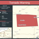 Image for the Tweet beginning: Tornado Warning continues for Greenville