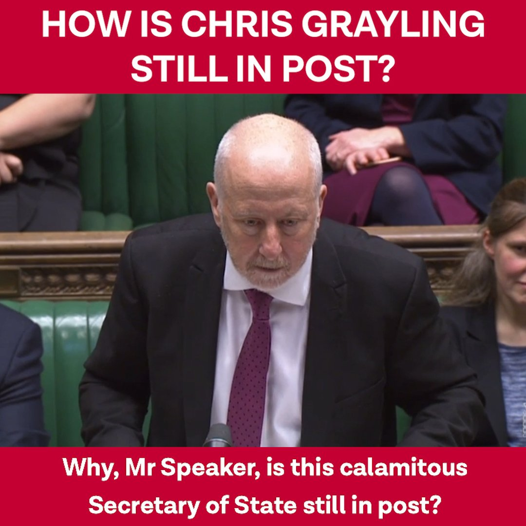 Another Angry Voice's photo on Chris Grayling