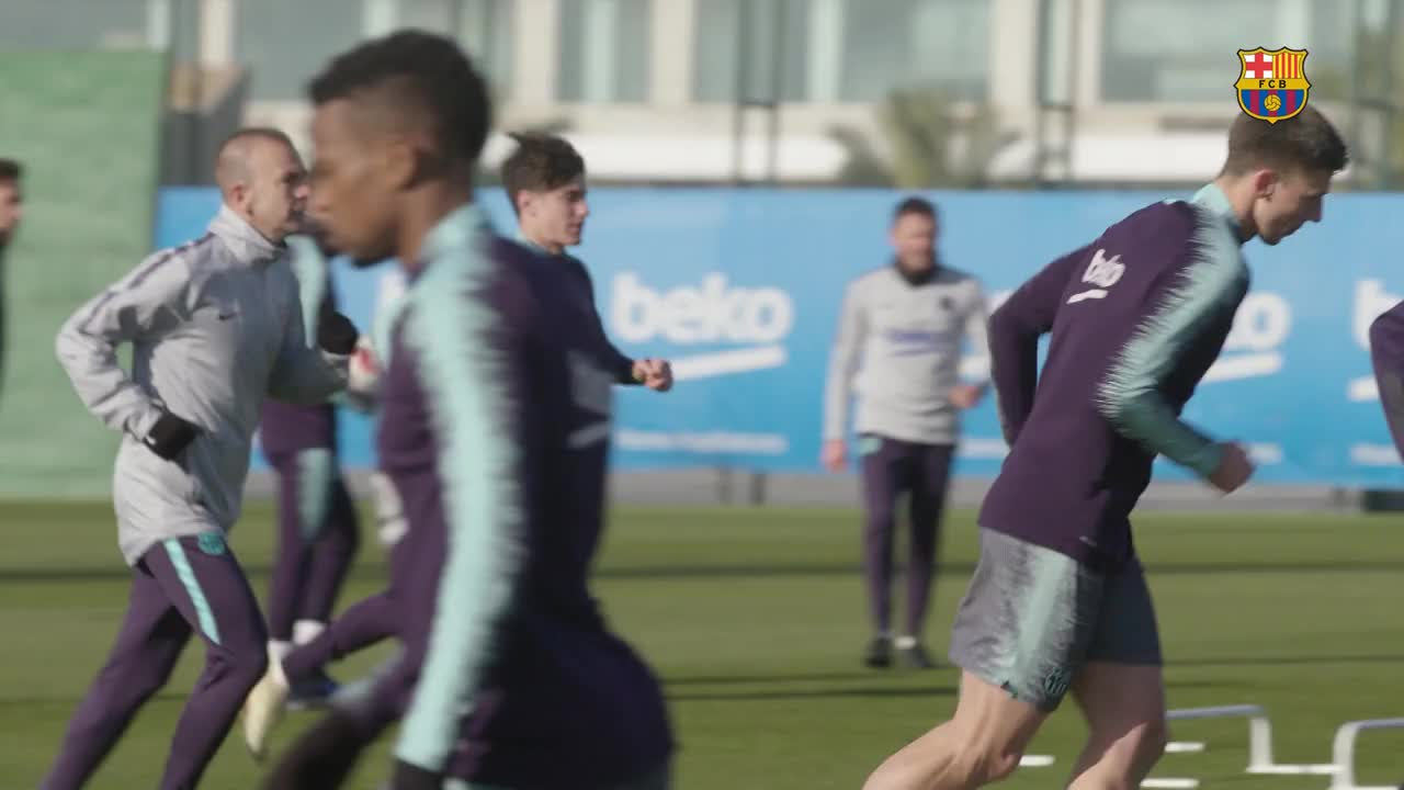 ⚽ Next mission, Levante in the cup on Thursday! #CopaBarça ���� https://t.co/SKU2DMKkFu
