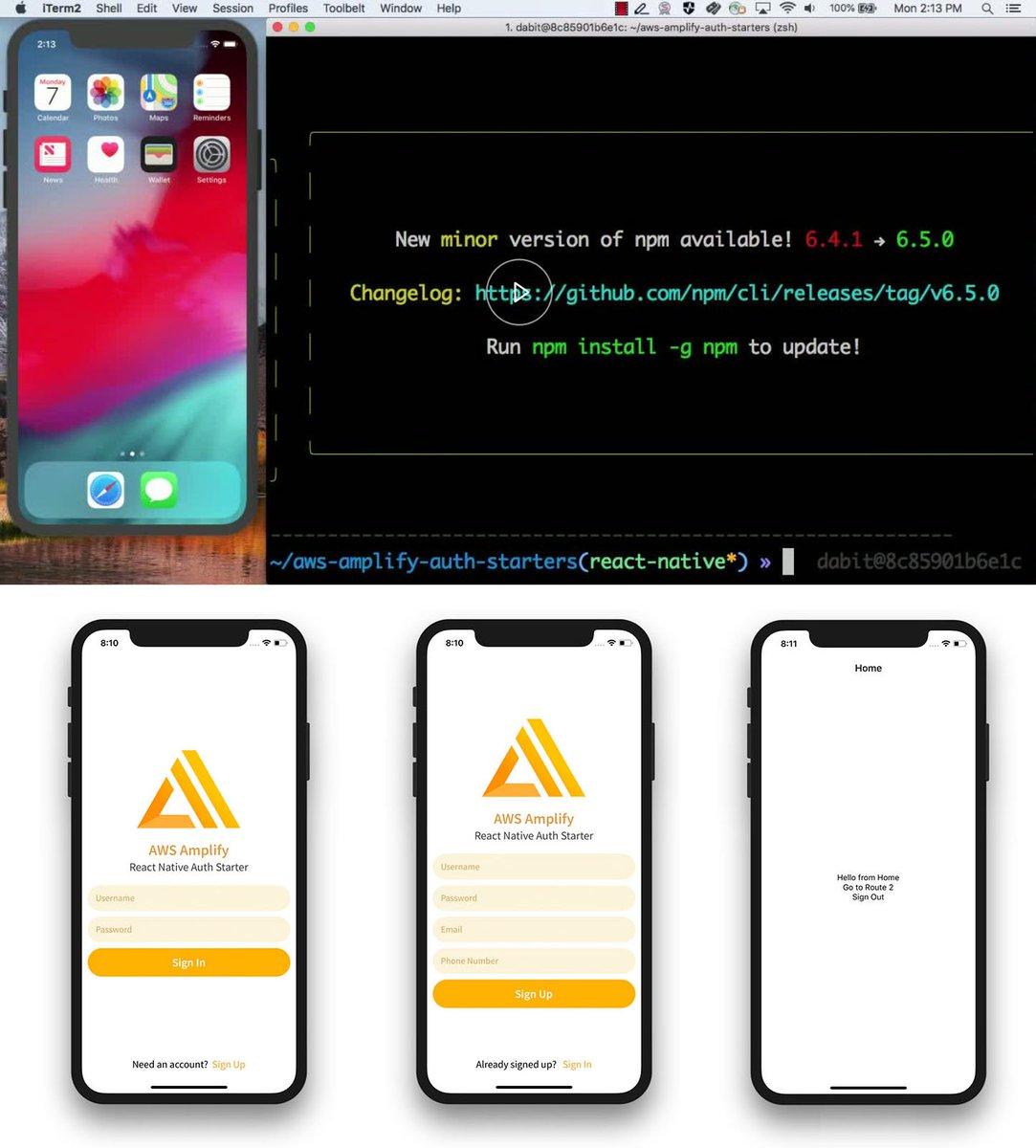 Amplify add auth