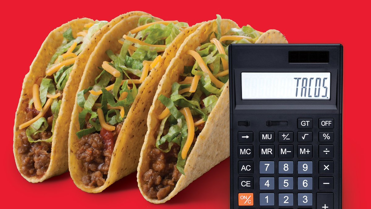 We ran the numbers, double-checked the math and can verify that it is in fact Taco Tuesday®. This calls for celebration