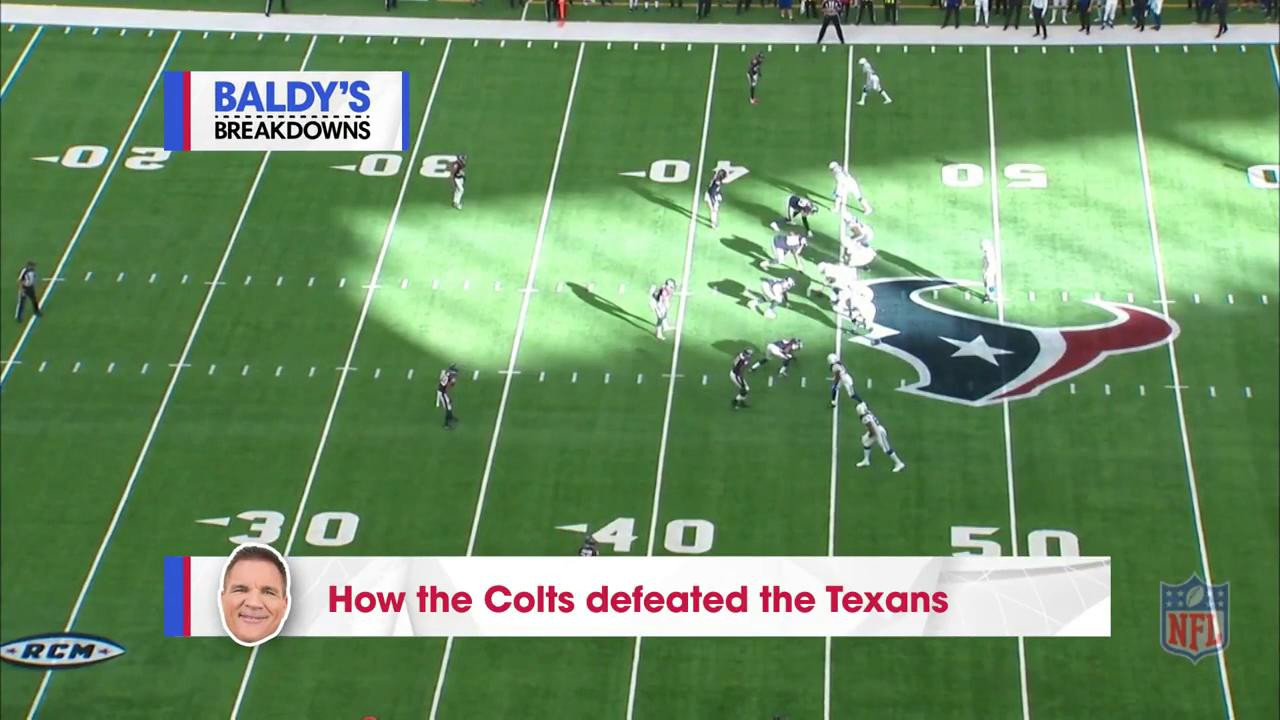 How'd the @Colts get it done in Houston?  The game tape doesn't lie. (via @BaldyNFL) #ColtsForged https://t.co/q3ZHSWx7VG