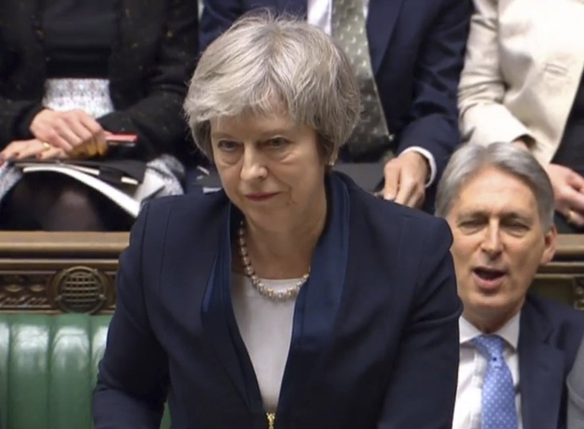 Here's Theresa May's statement after suffering a large defeat on the Brexit deal https://t.co/yiTl6MKc3o