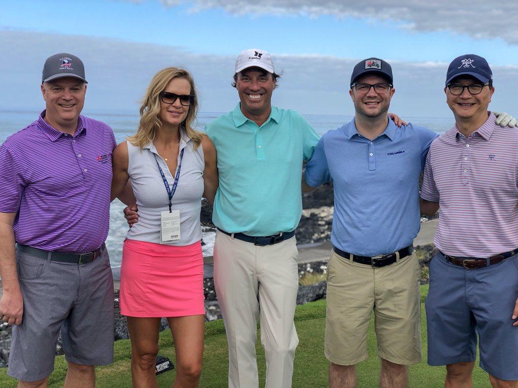 Great start for the week! @Mitsubishi_USA #Golf RT