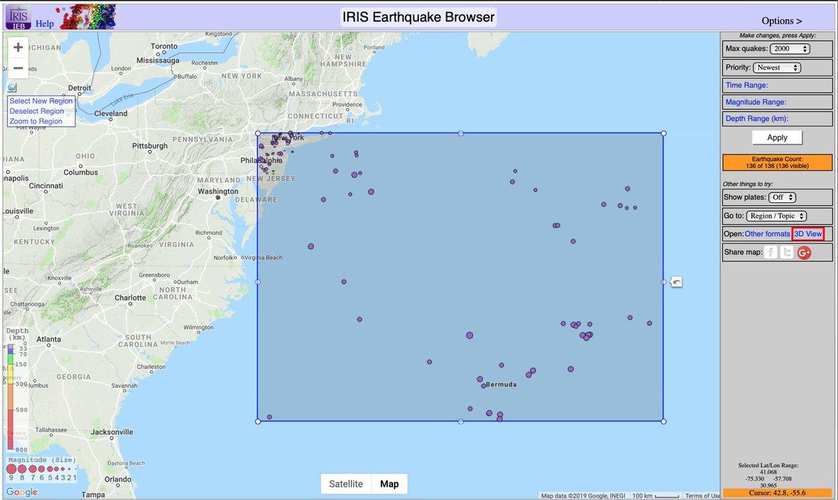 IRIS Earthquake Sci on Twitter: