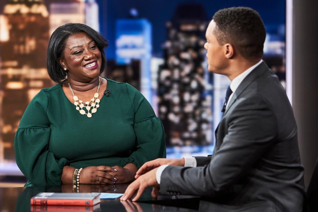 TONIGHT: Author @tressiemcphd is here to talk about #ThickTheBook!