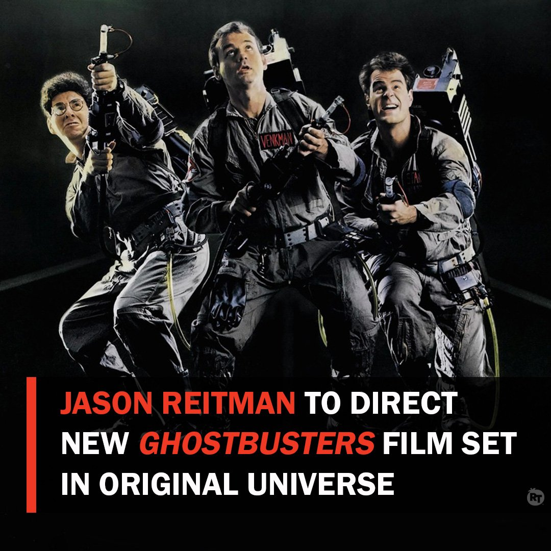 Jason Reitman is set to follow in his father's footsteps and direct an all new #Ghostbusters. The film, which will be set in the original universe, is set for release in Summer 2020.