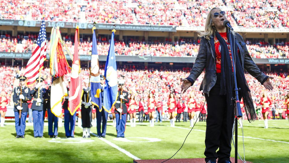 Melissa Etheridge to perform national anthem at AFC Championship game https://t.co/PPDuGnFpzz
