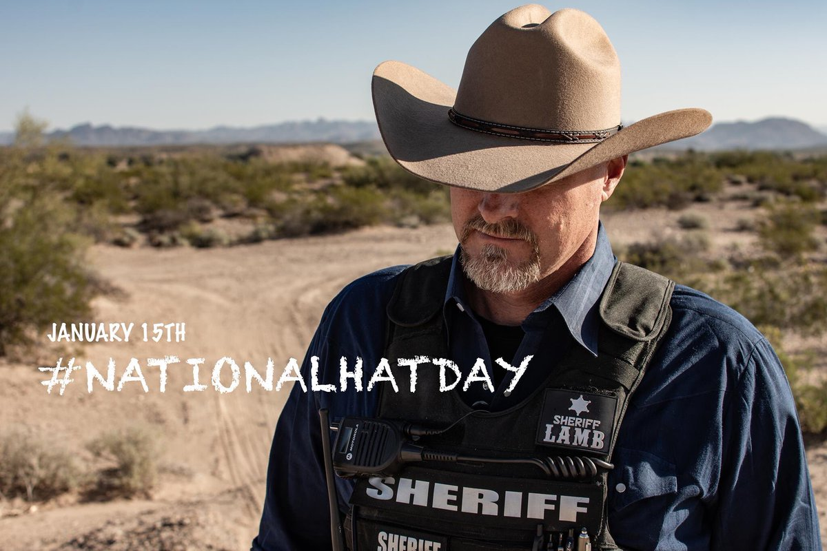 Today is #NationalHatDay......I couldn't miss today. Hahaha! Thank you to @milanohats for making my favorite Justin hat. . . #nationalhatday2019 #nationalhatday #milanohats #justin #thiscowboyshat #60DaysIn #LivePD <br>http://pic.twitter.com/Jf12GdnM9Y