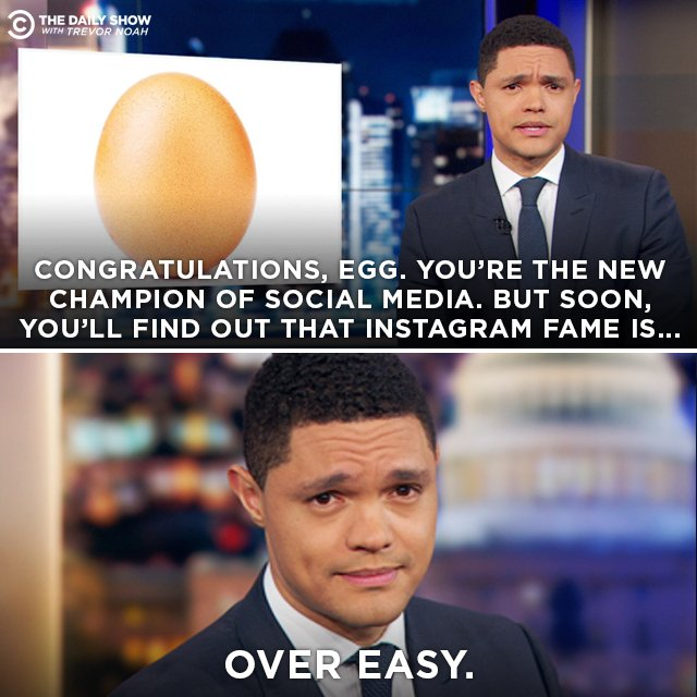 An egg has dethroned Kylie Jenner for most liked picture on Instagram. https://t.co/GpZK5WZJSc