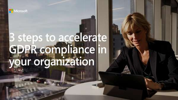 Don't let GDPR compliance issues negatively affect your business. With #Microsoft365, you have access to built-in tools that will help you. http://stuf.in/btlk2