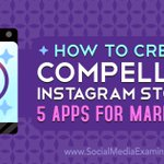 Are you active over on #Instagram? Check out my latest article for @SMExaminer highlighting 5 KILLER apps for Instagram Stories content creation! https://t.co/q70bHLBGc3 @over @acolorstoryapp @filmmakerproapp @spliceapp @UnfoldHQ