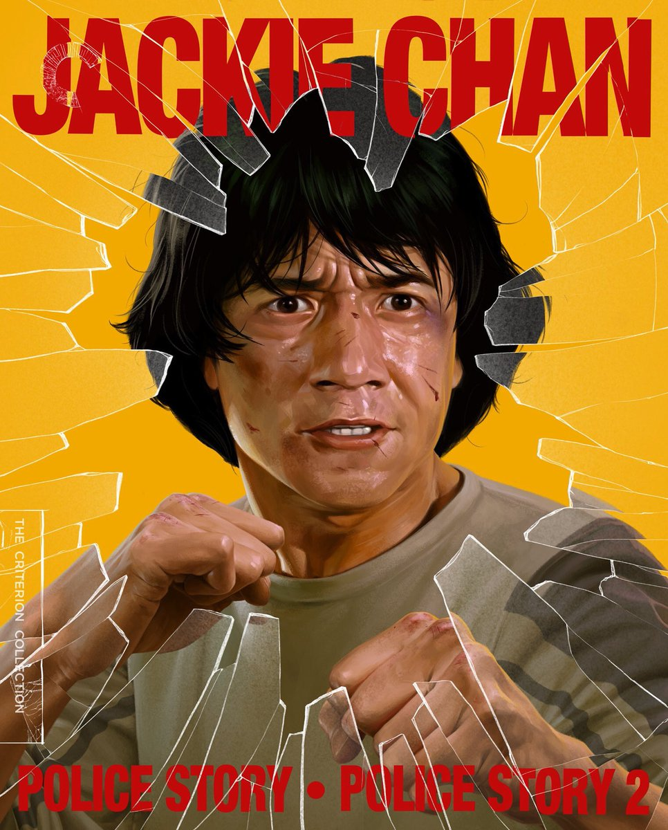 Police story 1&2 on @Criterion is one of the greatest things to ever happen on this planet.