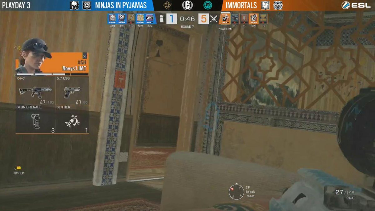 Image for the Tweet beginning: Best. Timing. Ever.   @MiloshTheMedic #R6PL