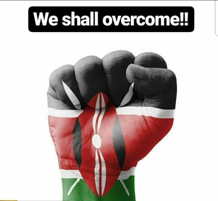 To our Police, private licence gun holders & to each of you who texted or called with info...Standing Ovation!  Asante IG @JBoinnet for the direct assistance & allocation of cops to deal with each info we got online & on messaging Apps.  Prayers continue...  #WeShallOvercome