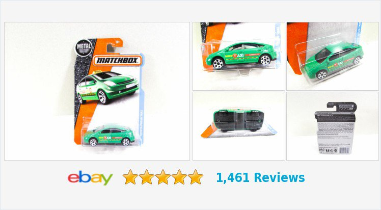 Matchbox Toyota Prius Taxi Green Car NIP 2015 Thailand #eBay #matchbox #collectible #toy #toyotaprius  https://www.ebay.com/itm/323640869393… (Tweeted via http://PromotePictures.com)