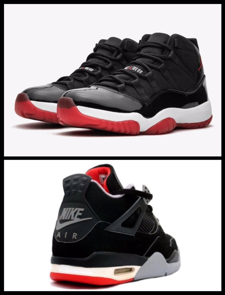 87f5bbcbb1d44d  CantKnockTheHuSole  Nike  NikeAir  Jordan  AirJordan  Jordan4  Jordan11   AJ11  AJ4  Bred  Shoes  Sneakers  Sneakerheads  SneakerTwitter  Kicks   KicksOnFire ...