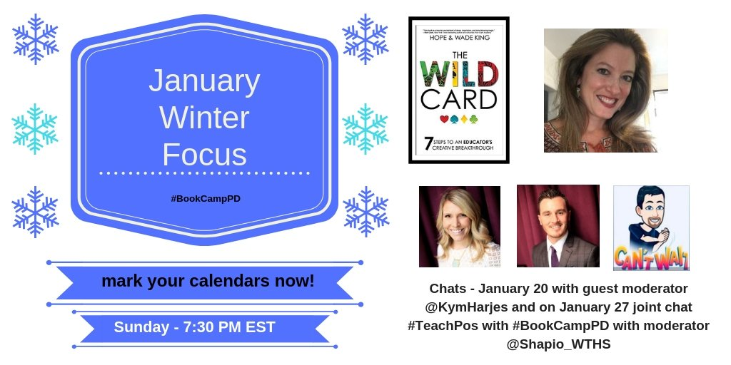 A3. My biased response would be #BookCampPD #2PencilChat