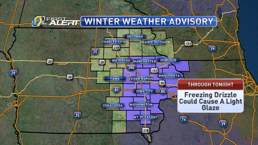 Kcrg Tv9 First Alert Weather On Twitter The National Weather