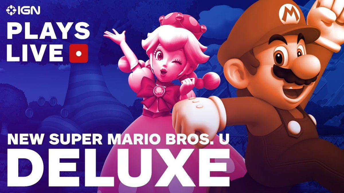 Gonintendotweet On Twitter Ign Video New Super Mario Bros U Deluxe Multiplayer Mayhem Live Stream Recording Https T Co Xkgvc80o45