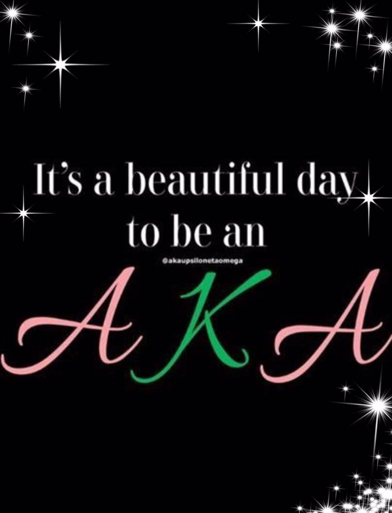 It's been a wonderful day celebrating 111 years of community service with the distinguished ladies of Alpha Kappa Alpha Sorority, Inc. #SkeeWeeSorors💚💕💚💕💚💕