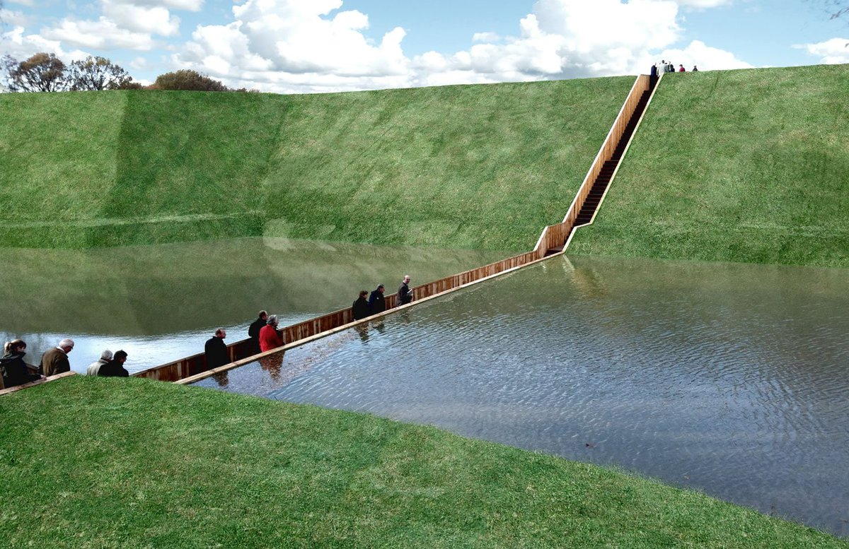 IMAGE: The Moses Bridge in the Netherlands.