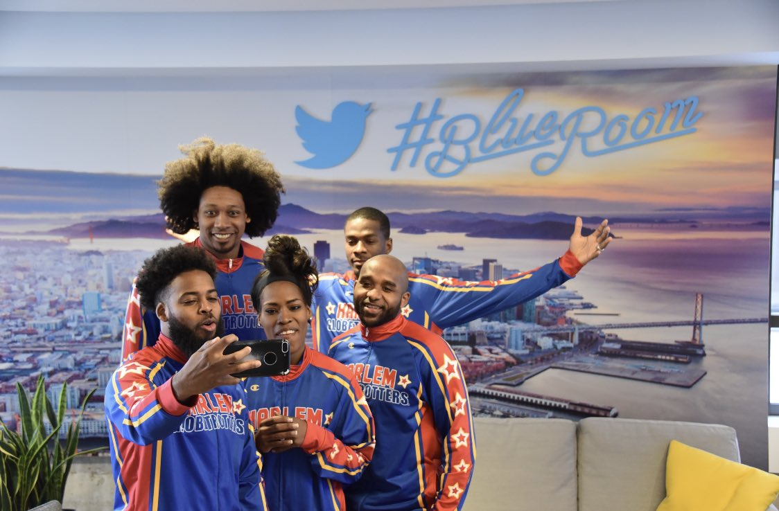 Thank you to @Globies for stopping by and visiting us at Twitter SF!
