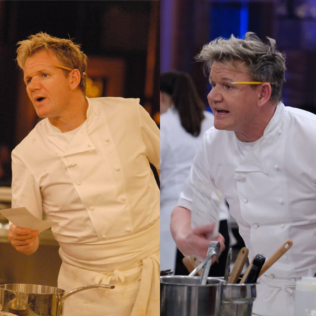 Some things never change on @HellsKitchenFOX.....#10yearchallenge