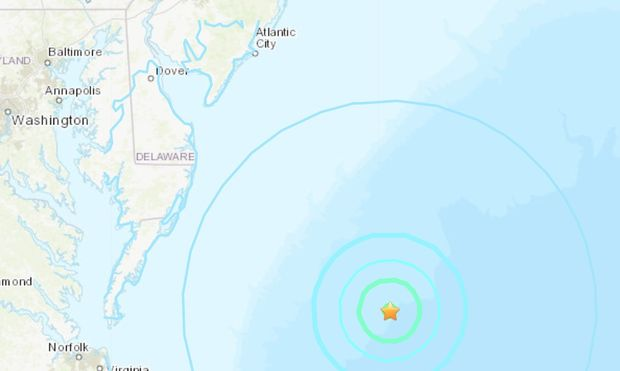 4.7 magnitude earthquake reported off the East Coast https://t.co/zupgdqTULy