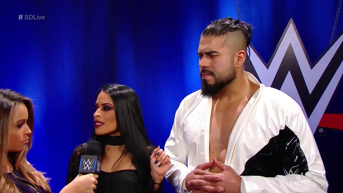Will 2019 become the YEAR of ANDRADE?   @AndradeCienWWE battles @ReyMysterio TONIGHT on #SDLive! @Zelina_VegaWWE