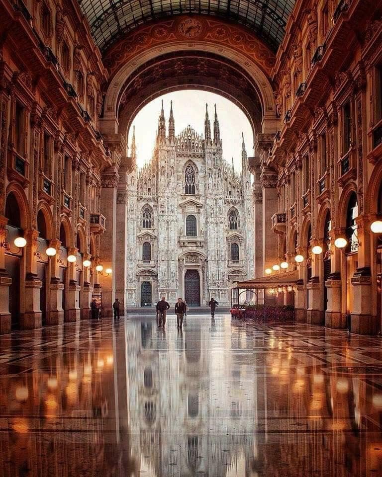 Milan Cathedral in Italy.