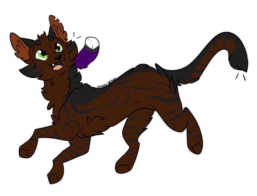 I forgot all about TwilightPool! The warrior cat my friend @cautiousculpeo made me based on my first and last initial. So I have 3 cats and I love them so 😭 #warriorcatocs