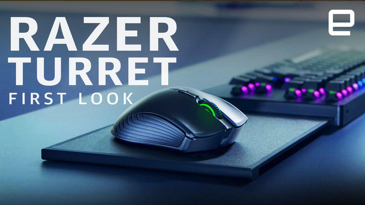 Razer's Turret for Xbox One brings the keyboard to the couch: