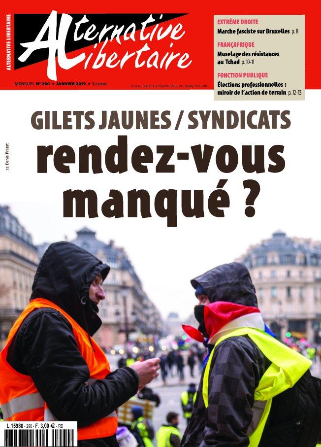 LES LUTTES EN FRANCE vers la restructuration politique (Gilets jaunes) : les débats continués 17 déc.- mars 2019 DwaUdU1W0AAJREQ
