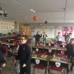 Image for the Tweet beginning: A little #GoNoodle to wake