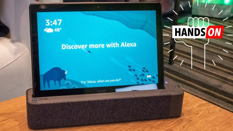 Lenovo's cheap Android tablets double as Alexa speakers