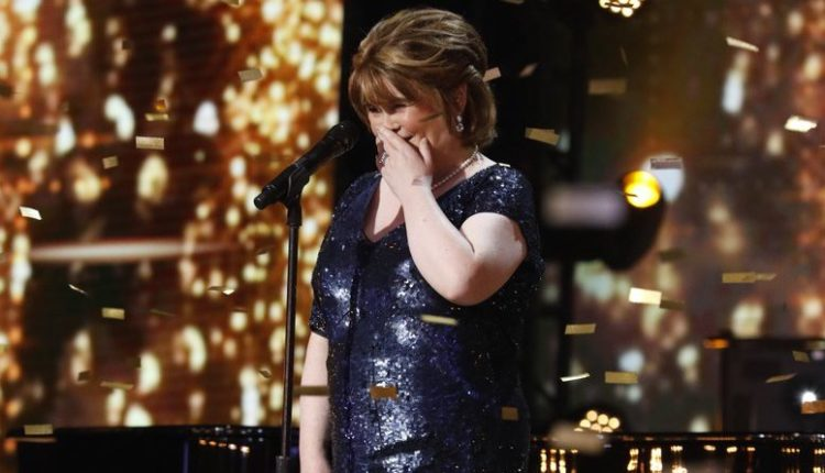 Crying. @SusanBoyle is back and her gold buzzer-worthy performance is so moving watch: http://ow.ly/6Pob30neQG4
