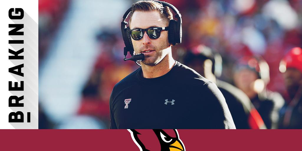 Cardinals expected to hire Kliff Kingsbury as head coach: https://t.co/idAj1E54hM (via @PSchrags + @RapSheet) https://t.co/zPAJ6M73Z7