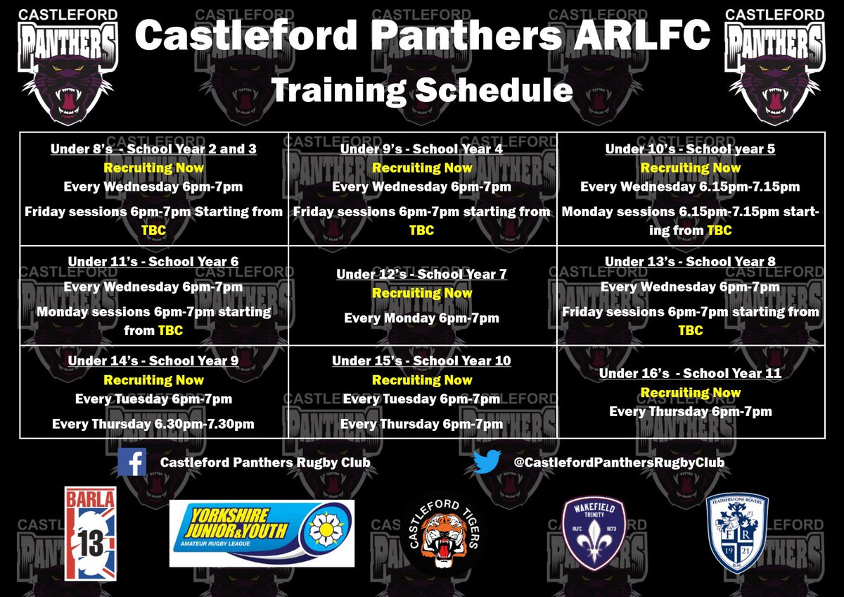 Castleford Panthers Under 10's (@panthers_u10) | Twitter