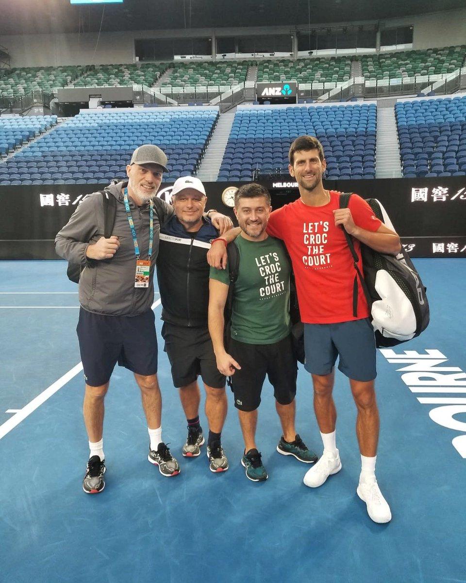 Good to be back Down Under 🐊🐊🐊🐊 #TeamDjokovic #Idemooo #NoleFam @AustralianOpen #AusOpen