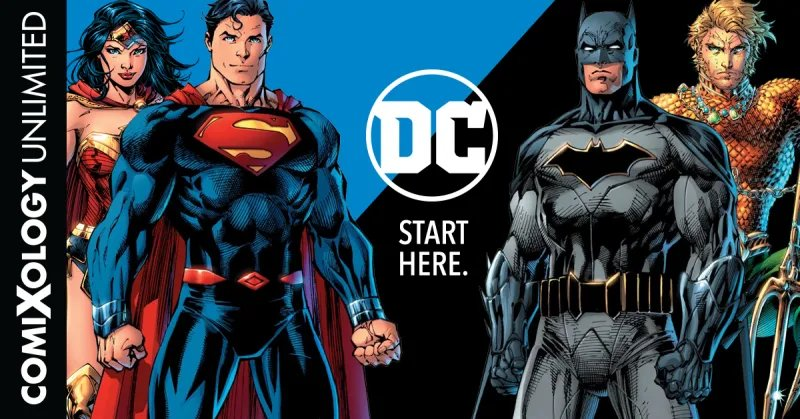 Gizmodo On Twitter Dc Comics Is Joining Comixologys Unlimited